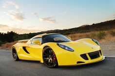 The British Hennessey Venom GT gain 300 km/h in 13.63 seconds. None of the sports cars can boast such a great performance. That is why the starting price of the Hennessey Venom GT is $1.2 million dollars. Well, it certainly worth buying if you have an extra couple of million bucks.