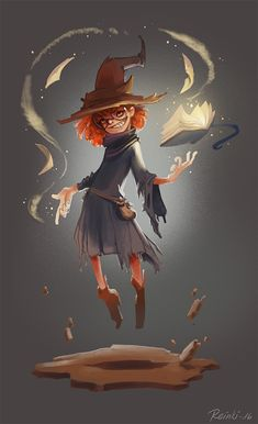 Witch, Kaja Reinki on ArtStation at https://www.artstation.com/artwork/ZJO3m