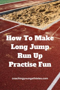 Learn how long and triple jump run-up practise can be done with kids away from the runway and why you don't even need a sand pit. See 6 long jump run-up games that won't bore kids. Triple Jump, Bored Kids, Kids Line, Long Jump, Sand Pit, Kids Running, Track And Field, Athletics, Veronica