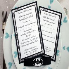 nice 11 comic book wedding invitations