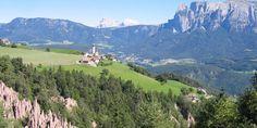 Renon, South Tyrol environs of Bolzano - Ritten, sunny highplateau near Bolzano