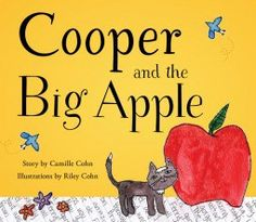 """Miss L Reviews """"Cooper and the Big Apple"""" by Camille Cohn - SciFi and Scary"""