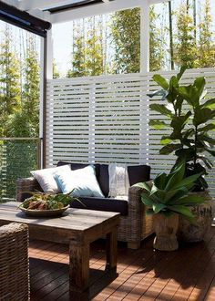 outdoor rooms on a budget . outdoor rooms with fireplace . outdoor rooms attached to house . Outdoor Areas, Outdoor Rooms, Outdoor Living, Outdoor Furniture Sets, Outdoor Decor, Outdoor Seating, Outdoor Balcony, Privacy Screen Outdoor, Backyard Privacy