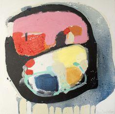 "Saatchi Online Artist Claire Desjardins; Painting, ""Talk A Lot"" #art"