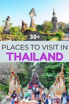 Planning a trip to Thailand? This guide will help you choose some of the most beautiful places in Thailand including iconic cities, tropical beaches, ancient cities, and unique places in Thailand. Thailand travel | Bucket list Thailand | Thailand destinations | Thailand places to visit | #Thailand #thailandtravel