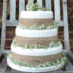 Lilybean Bakery  | Tiered Wedding Cakes