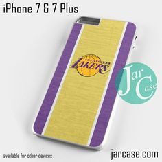 lakers Phone case for iPhone 7 and 7 Plus