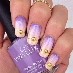 Beachy Gradient Nails by Henulle - Nail Art Gallery nailartgallery.nailsmag.com by Nails Magazine www.nailsmag.com #nailart