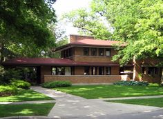Harry S. Adams House - Oak Park, Illinois, 1913