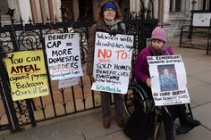 The Bedroom Tax battle is being waged by a very special breed of campaigners Disabled People Against Cuts + other activist groups, protest.