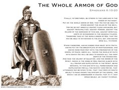 The breastplate of righteousness, the helmet of salvation, the shield of faith—these are terms you might already know. Description from pinterest.com. I searched for this on bing.com/images