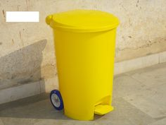 """09958229993 - KC Green Revolution Pvt ltd is the First ever manufacturer of India who produce Wheelie Pedal Bin 55L by injection molding in India. Our Bin is at international quality standards. It is a round shape bin with 17"""" dia and 24"""" height, it is available in Green, Red, Blue, Black, Yellow and grey colors, we can customize the colors as per customers' requirements. This can be used in hospitals for Bio Medical waste, in Hotel kitchens, Corporate offices, Industries and many more…"""