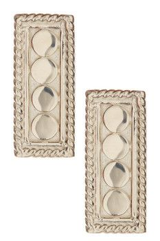 Anna Beck Sterling Silver Small Bar Stud Earrings