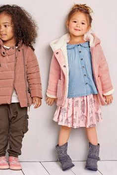 Buy Pink Borg Lined Jacket (3mths-6yrs) online today at Next: United States of America