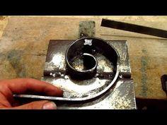 "F H Brundle - Beecher Bender - Metal Worker ""Plus"" - Part 3 Metal Bending Tools, Metal Working Tools, Metal Welding, Metal Tools, Metal Art, Metal Projects, Welding Projects, Steel Workbench, Steel Gate Design"