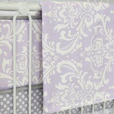 Lavender and Lace Baby Bedding and Nursery Necessities in Interior ...