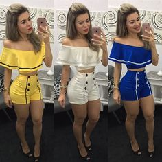 Stylish Summer Outfits, Cute Outfits, Casual Dresses, Short Dresses, Diy Shorts, Chor, All About Fashion, Summer Wear, Fashion Outfits