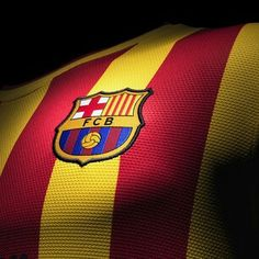 Barcelona to wear 'senyera' kit at Camp Nou against Athletic Club Bilbao Fc Barcelona, Camisa Barcelona, Barcelona Jerseys, Barcelona Futbol Club, Barcelona Soccer, Lionel Messi, Soccer Room, Image Foot, Athletic Clubs