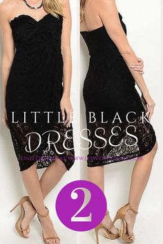 Shop Now   Looking for the perfect little black dress or lbd? Whether you are need a black evening dress, black party dress, black lace dress, black formal dress, or black cocktail dress you will find your perfect dress with Ledyz Fashions Boutique. Looking for a black dress to wear to date night, rehearsal dinner, bridal shower, bridesmaid as a guest to a wedding, prom or homecoming we have the PERFECT dress for you. Our little black dresses are lace, chiffon, strapless, halter, hi low…