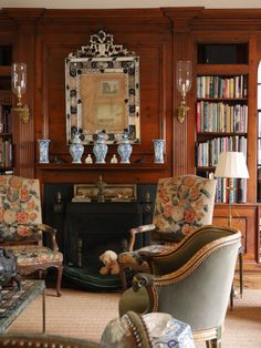 English Country Drawing Room