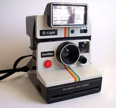 Polaroid OneStep SX-70 Model 1000 camera (1977)