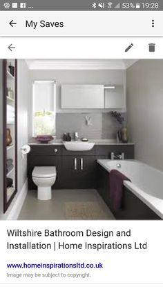 Mr Amp Mrs O S New Bathroom Mereway Graphite Gloss Cabinets