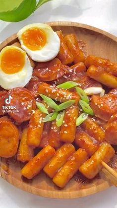 Kreative Desserts, Asian Recipes, Healthy Recipes, Aesthetic Food, Korean Food, Food Cravings, Diy Food, I Love Food, Food Dishes