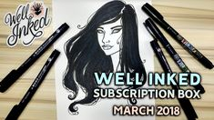WELL INKED BOX for MARCH 2018  Creative Subscription Box Unboxing & Review https://youtu.be/Z9JsxJMV7Tk  First impressions unboxing and reviewing my second Well Inked Box! Well Inked Box is a creative supplies subscription box that delivers quarterly! Great for designers writers bullet journalists and artists it offers 3 - 5 full size products every couple months.  Get your own Well Inked Box! https://ift.tt/2ochlta See what others create on their Instagram: https://ift.tt/2HAj6be  Notebook…