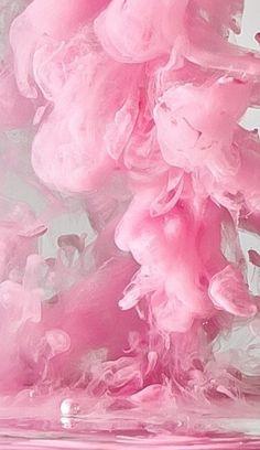 Pink Smoke...