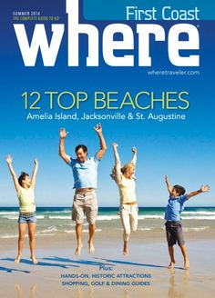 Get your digital subscription/issue of Where First Coast-Summer 2014 Magazine on Magzter and enjoy reading the Magazine on iPad, iPhone, Android devices and the web. Free Magazines, Amelia Island, Beach Tops, Summer 2014, Ipod Touch, You Got This, Coast, Ipad, Android