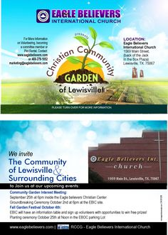 Community Garden in The Works! Interest Meeting 9/25 @6pm