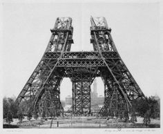 Tour Eiffel - Paris 1888