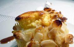 Soufflè di ricotta di kefir nella mela avvolta in mantello croccante di Ernst Knam (Kefir cheese soufflé in the apple wrapped in crispy coat of Ernst Knam)