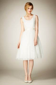 Bridal | Naturals EMBRACE TULLE DRESS | Coast Stores Limited