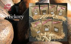 Hickory Smoking Wood Chips 450g - Ideal for BBQ's, Smokers & pizza ovens