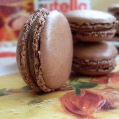 Schokolade Macarons
