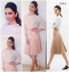 Yay or Nay : Deepika Padukone in Zara | PINKVILLA