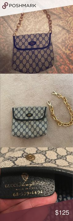 Vintage Gucci clutch bag Vintage Gucci clutch bag Gucci Bags Clutches & Wristlets