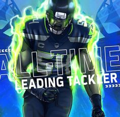 Seahawks Football, Seattle Seahawks, Bobby Wagner, D Line, 12th Man, American Football, Master Chief, All About Time, Nfl