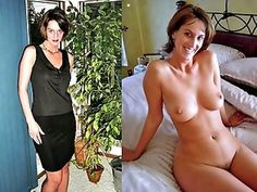 And husband undressed dressed wife