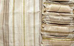 Robe à la Française __ pinked edges on box-pleated trim