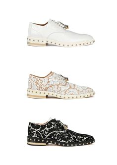 Givenchy | W Derbies Spring 13