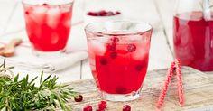 Cocktail sans alcool aux groseilles