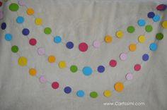 Party Girlande, Diy Girlande, Kindergarten, Birthdays, Kids, Crafts, Rainbows, Etsy, Spring