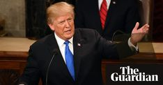 US president says 45.6 million viewers 'highest in history' – but previous incumbents beat it