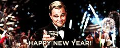 Leonardo DiCaprio Oscar: Leo finally wins for best actor Internet celebrates with memes TomoNews Leonardo Dicaprio Oscar, Film Gif, Gif Animé, Animated Gif, Animated Ecards, Happy New Year Gif, Image Film, Oscar Wins, Fine Art
