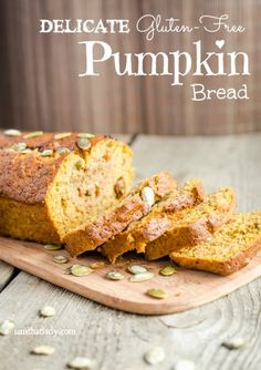 This Pumpkin bread is so amazing your friends will have no idea that it's gluten free! This delicate bread is super easy to making, head on over and see for yourself!
