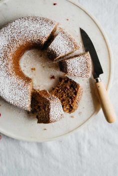cranberry, lemon + poppy seed breakfast slice (gf + df) | dolly and oatmeal: