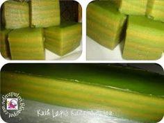 Kuih Lapis Kacang Hijau | Singgahsana Kitchen