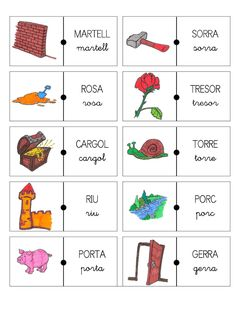 ENCADENAT RR TOTES POSICIONS Reggio, Lectures, Speech Therapy, Valencia, Montessori, Language, Author, Education, Reading